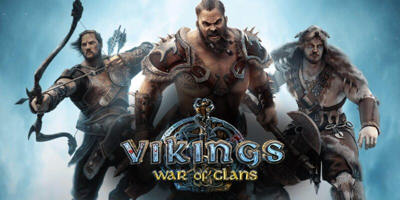 Vikings: War of Clans.  MMO стратегия.